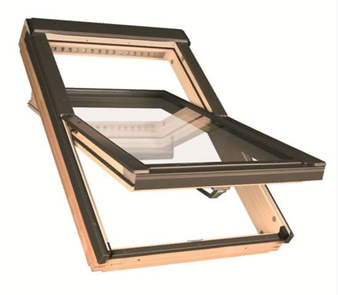 Мансардное окно Факро FTP-V U3 Profi 94х118