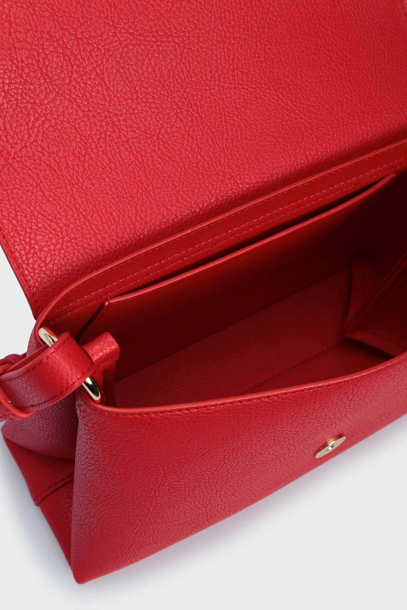 Женская красная сумка через плечо TH CORE FLAP Tommy Hilfiger