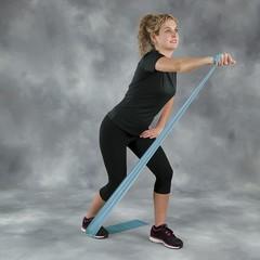 Rezin band \ Жгут спортивный резиновый \ Resistive Exercise Bands Blue 2