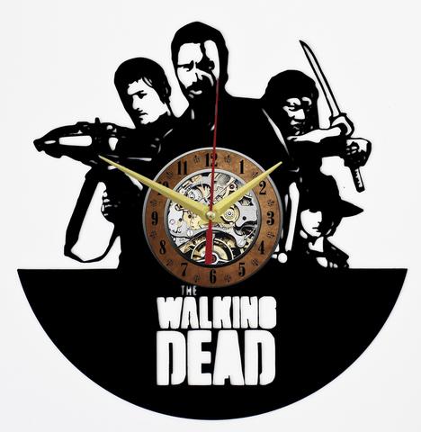 Ходячие мертвецы Часы из Пластинки — The Walking Dead