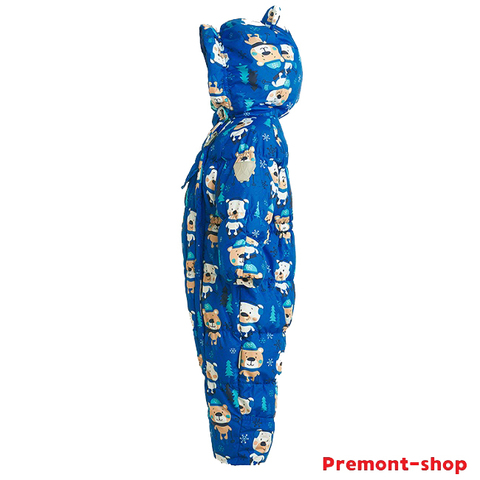 Зимний комбинезон Premont Мишки по лесу гуляли WP92060 BLUE