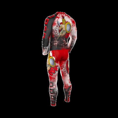 купить мужские тайтсы леггинсы orso sparta gektor для бега фитнеса единоборств занятий спортом