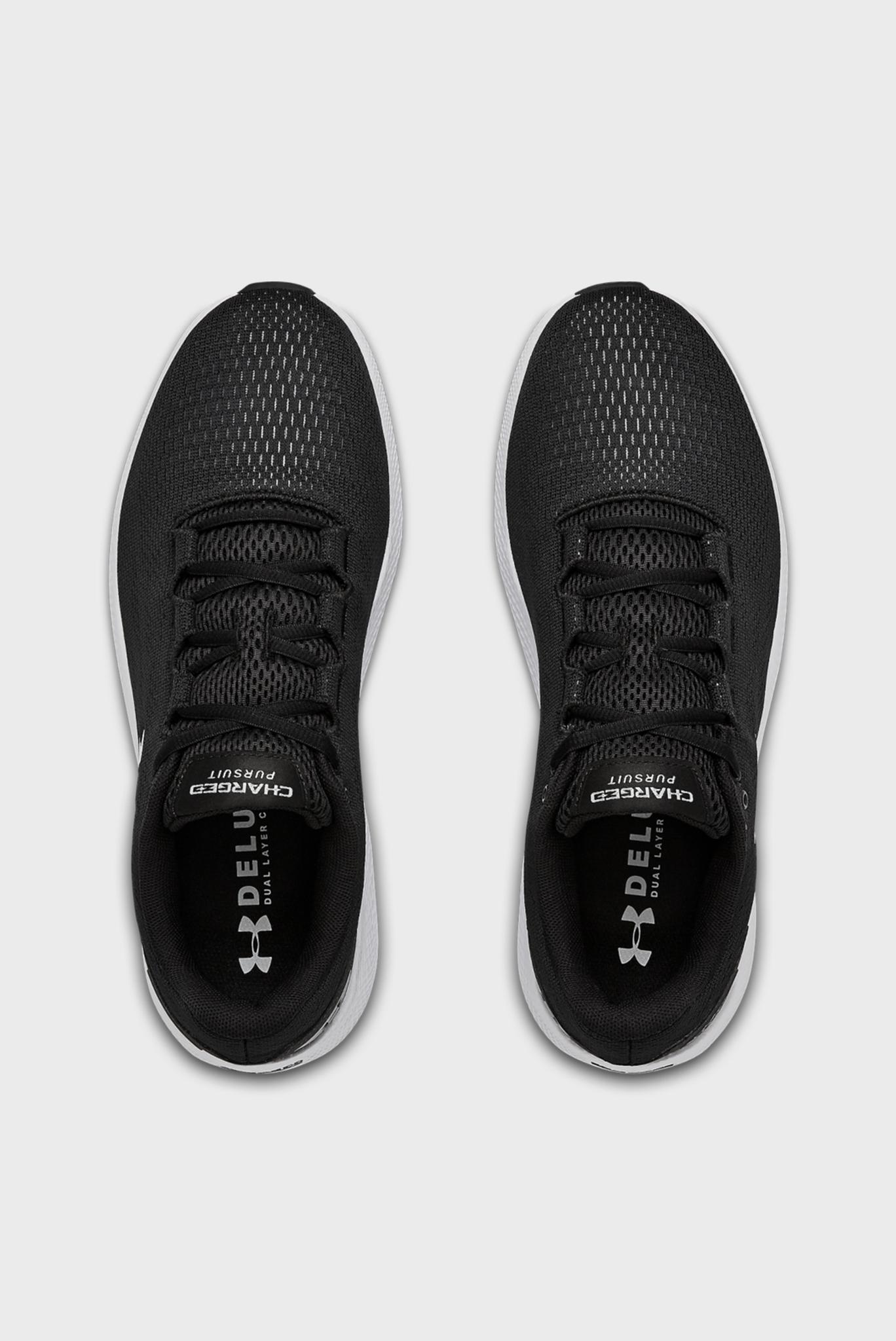 Мужские черные кроссовки UA Charged Pursuit 2 Under Armour