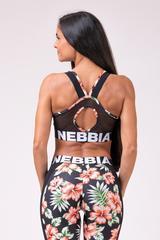 Женский топ Nebbia mini 551 ALOHA BABE black