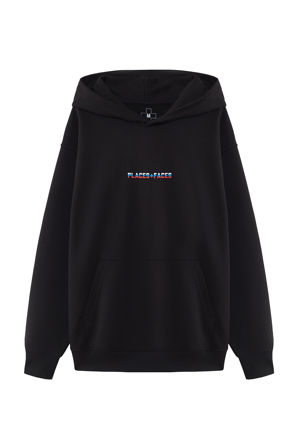PLACES+FACES Black Hoodie
