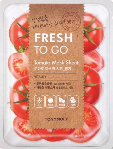 Maska \ Маска \ Mask TONYMOLY Fresh To Go Mask Sheet 25g 1pcs Tomato