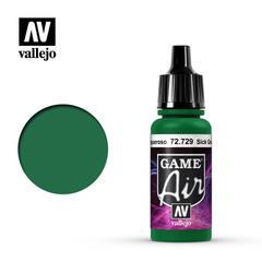 Game air 729-17ml. Sick green