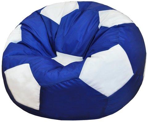 Кресло-мешок «Мяч» Сине-белый