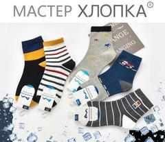 Носки для мальчиков  ( 10  пар) арт. DА7027 (р. 4-6 )
