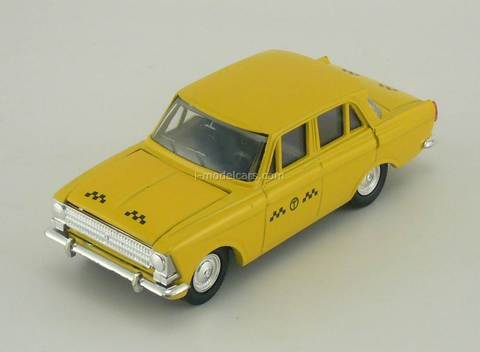 Moskvich-412 Taxi yellow Agat Mossar Tantal 1:43