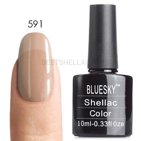 Bluesky Shellac 40501/80501 Гель-лак Bluesky № 40591/80591 Salmon Run, 10 мл 591.jpg