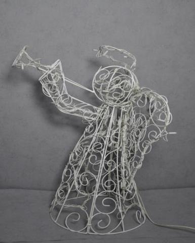 LED рождественская фигура ангела из гирлянд конструкция