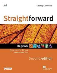 Straightforward 2ed Beginner Student's Book & Webcode Pack
