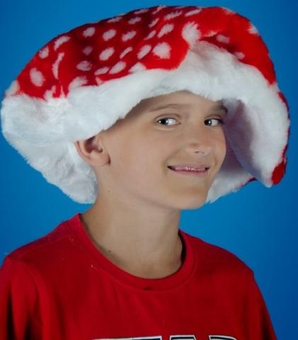 Карнавальная шапочка Гриб Мухомор 2