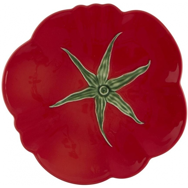 Тарелка обеденная Bordallo Pinheiro Томат 29см, керамика
