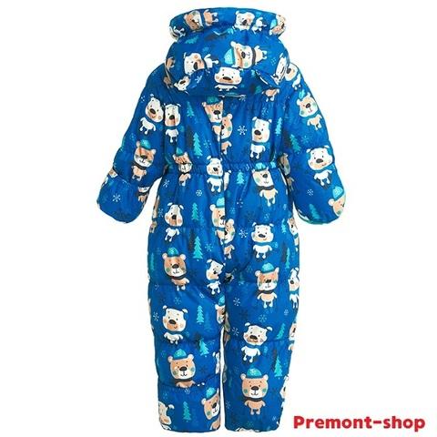 Комбинезон Premont для мальчика Мишки по лесу гуляли WP92060 BLUE
