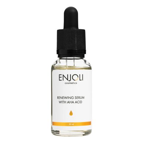 """Подарочный набор ENJOLI """"Сила обновления""""с AHA-кислотами для жирной и проблемной кожи лица."""