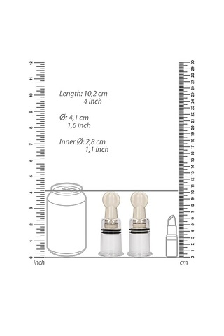 Помпы для сосков Nipple Suction Cup Medium