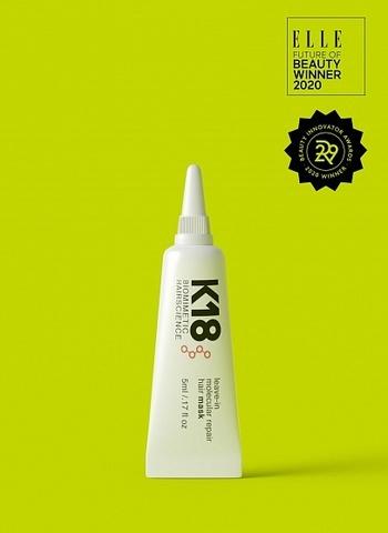 K18 Несмываемая маска Leave-in Molecular Repair Mask,  5 мл