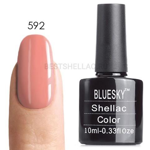 Bluesky Shellac 40501/80501 Гель-лак Bluesky № 40592/80592 Dandelion, 10 мл 592.jpg