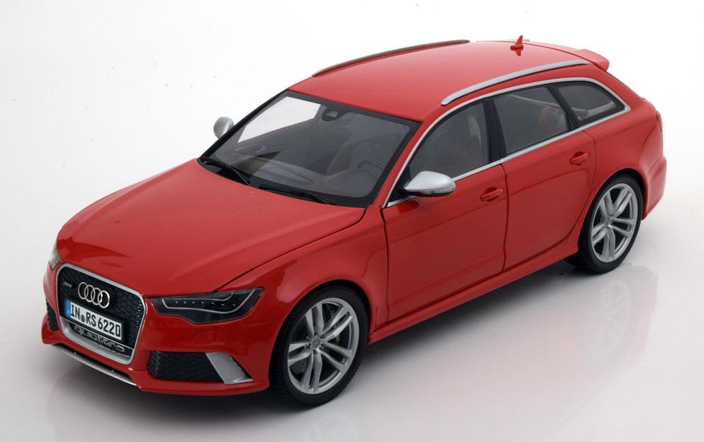 Коллекционная модель Audi RS6 Avant 2013