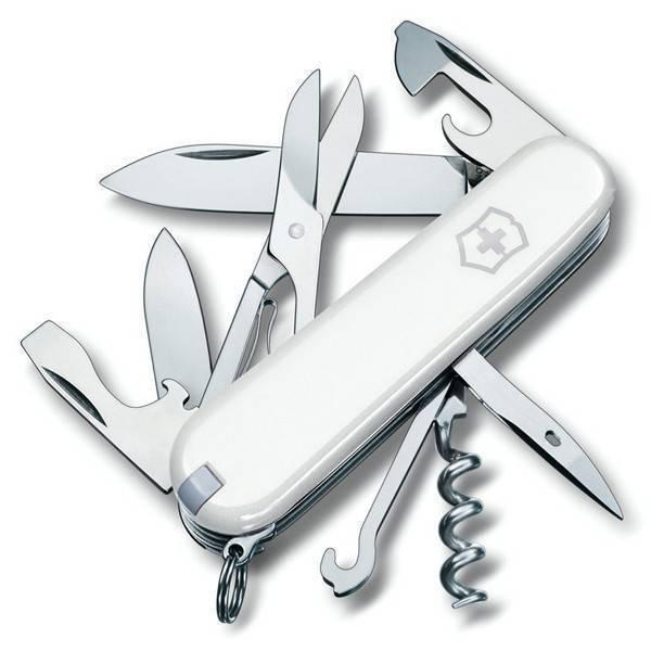 Складной многофункциональный нож Victorinox Climber White (1.3703.7R) 91 мм., цвет белый