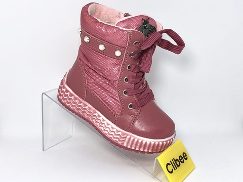 Clibee (зима) H703 Water/red 22-27