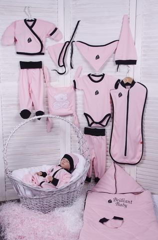 Комплект для новорожденных Baby Box розовый