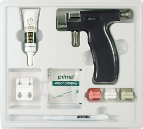 Набор инструментов и принадлежностей для прокола мочки уха модель R 993-S