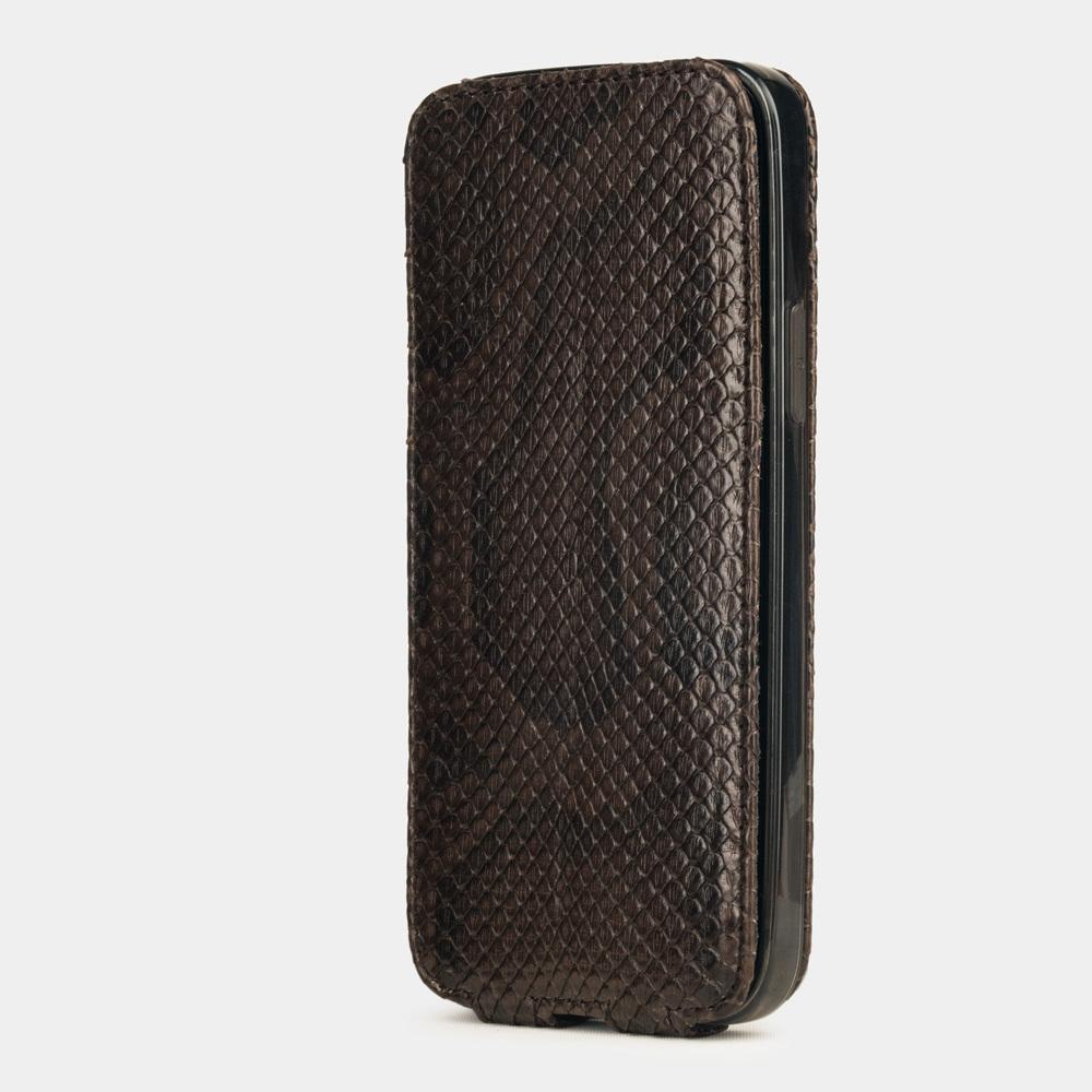 case iphone 12 mini - python brown