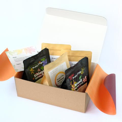 Кофейно-ореховый набор «Миндаль и Кофе»