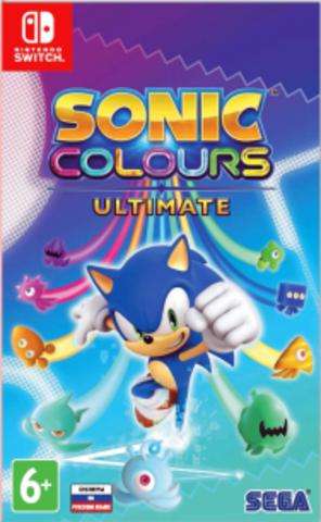 Sonic Colours: Ultimate (Nintendo Switch, русские субтитры)