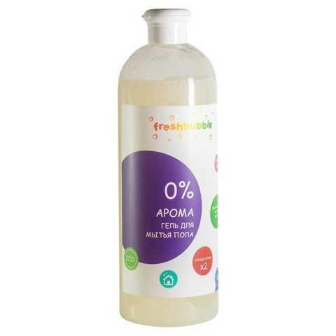 Гель для мытья пола без аромата, 500 мл (Fresh Bubble)