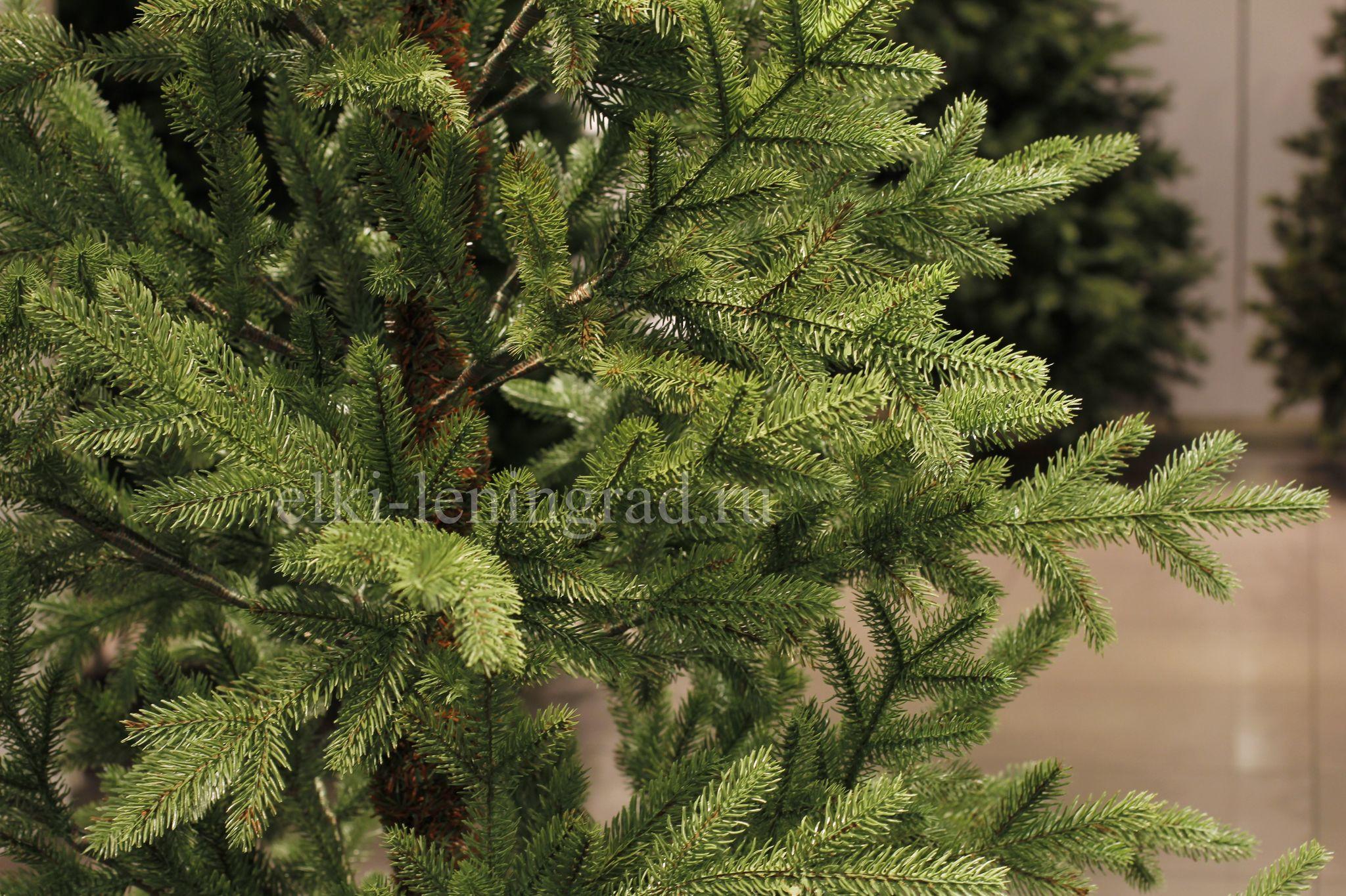 Искусственная елка Нордман Люкс 100% литая