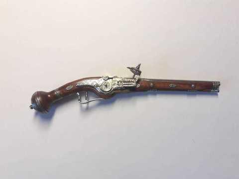 Miniature weellock pistol scale 1:6 Light version