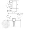 Смеситель для душа Migliore Kvant ML.KVT-2738 схема