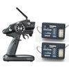 Futaba 4PLS 4-CH T-FHSS Telemetry Radio System R304SB 2x Receiver