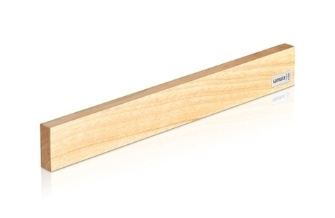 Магнитный держатель из светлого дерева для стальных ножей Samura Festival, арт. SMH-04L