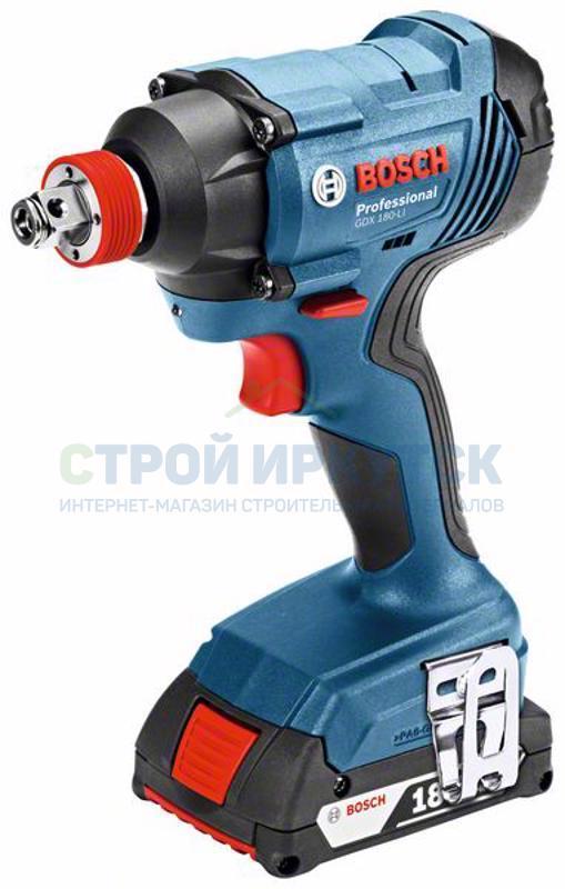 Гайковерты Аккумуляторный ударный гайковёрт Bosch GDX 180-LI (06019G5220) fc1fbf389a96834ca9ea0b20822c8b92