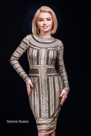 Simone Russie SR1948 коктейльное платье