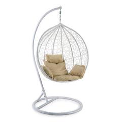 Кресло подвесное (mod. SC-003) с подушкой (белый)