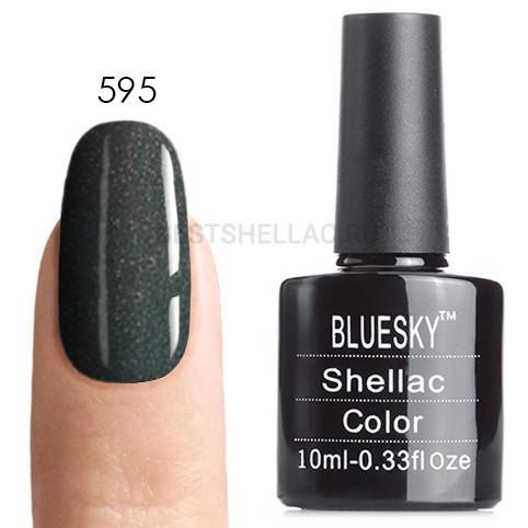 Bluesky Shellac 40501/80501 Гель-лак Bluesky № 40595/80595 Wild Moss, 10 мл 595.jpg