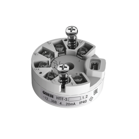 НПТ-3 нормирующий преобразователь в головку датчика евростандарта