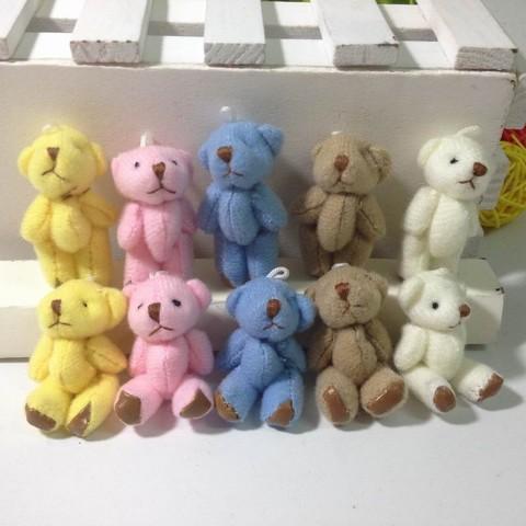 Іграшка для ляльки 6 см - ведмедик