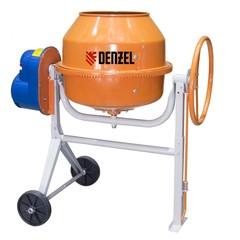 Бетоносмеситель B-125, 550 Вт, 130 л Denzel