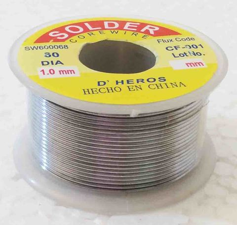 Припой для пайки CF-001 1мм 130г а4 30% 1510-190