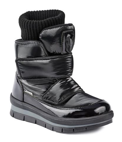 Jog Dog зимние ботинки TERREN (черный флэш) для девочки