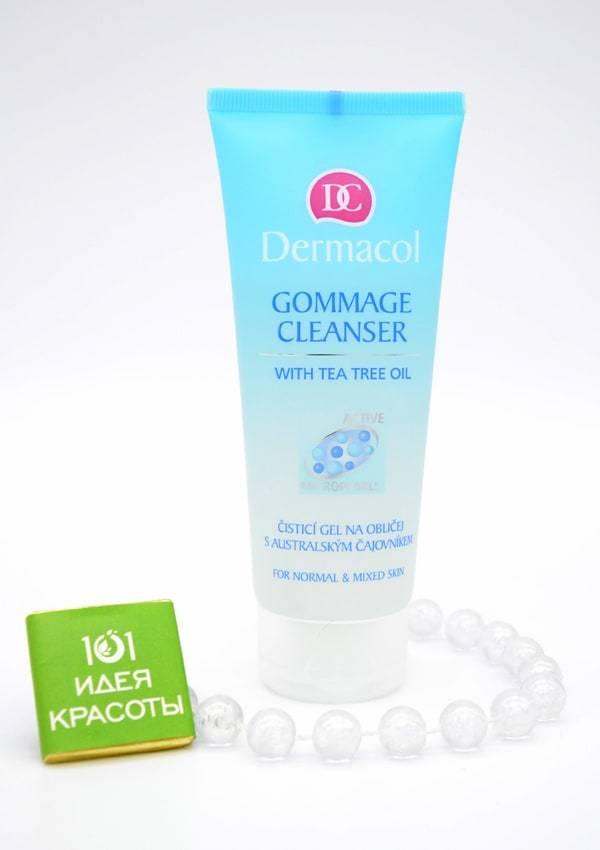 Dermacol Gommage Cleanser Очищающий гель-гоммаж, 100мл