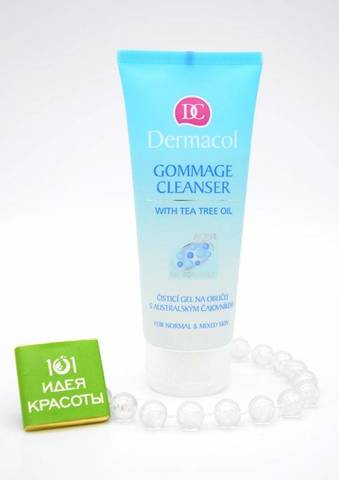 Dermacol Gommage Cleanser Очищающий гель-гоммаж, 100мл