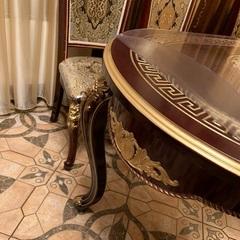 Скатерть круглая рифленая диаметр 106 см